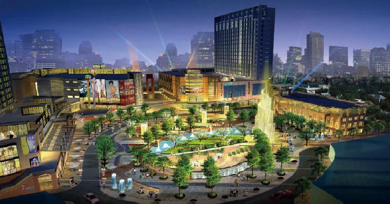 建筑设计案例-天门新城项目..