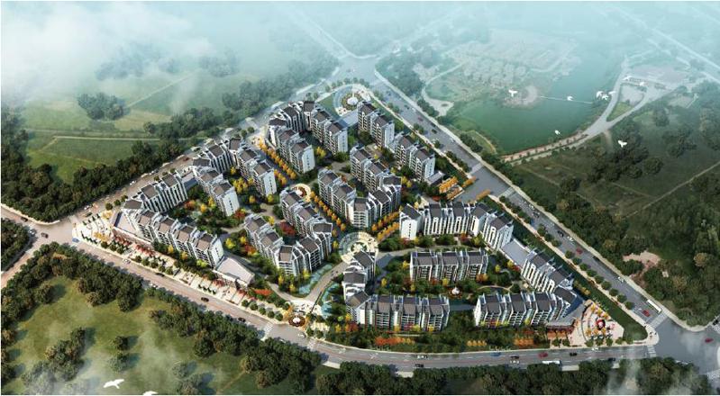 华中天创建筑设计案例:七约山棚户区改造规划.