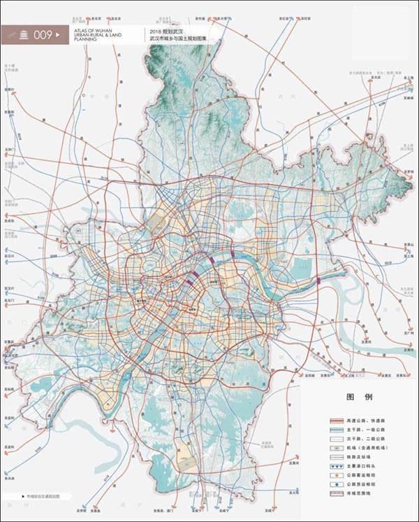 2019武汉交通规划图