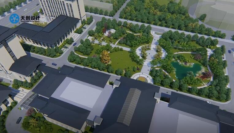 会议中心规划设计图