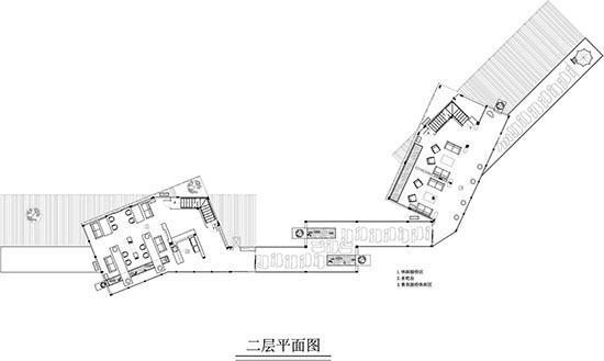 集装箱建筑设计平面图二层
