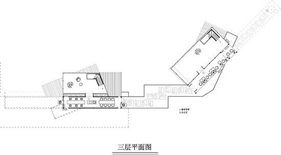 集装箱建筑设计平面图三层