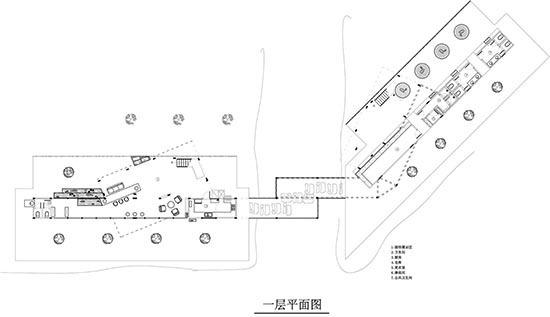 集装箱建筑设计平面图一层