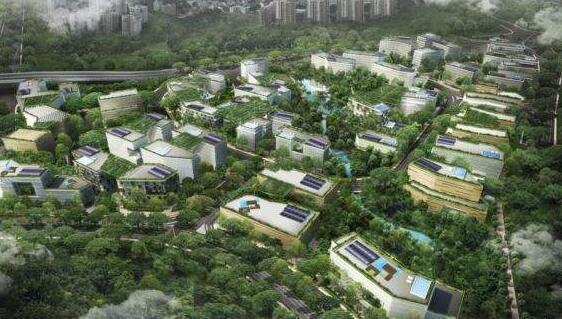 武汉建筑设计分享产业园规划案例:新加坡纬壹科技园