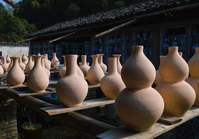 江西景德镇陶瓷烧窑古窑民俗博览区