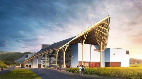 武汉建筑设计院:胡适博物馆设计方案效果图
