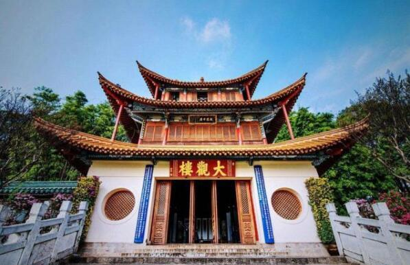 武汉建筑设计:云南大观楼的设计特点