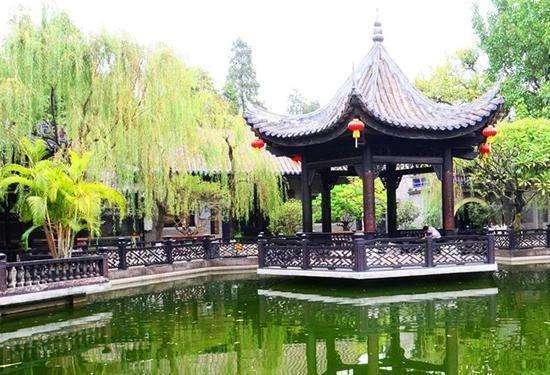 武汉园林景观设计中的园林景观设计中的亭子设计