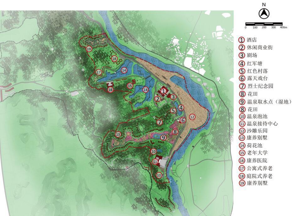 武汉旅游规划设计公司案例:明月湾康养度假项目