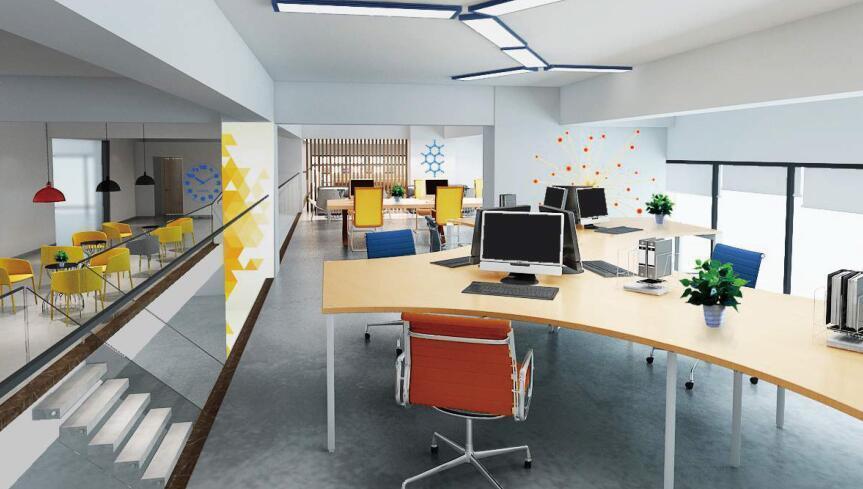 商业空间设计项目-街道口创业中心