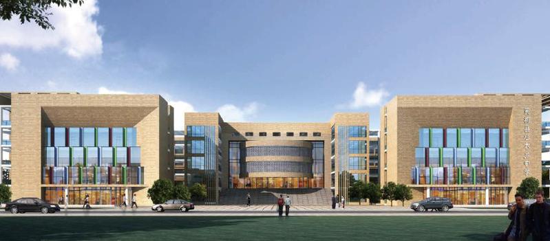 华中天创设计校园规划案例.
